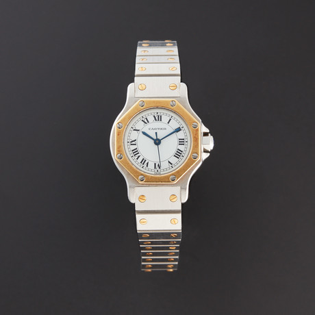 Cartier Octagonal Santos Quartz // Pre-Owned