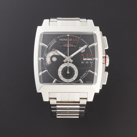 Tag Heuer Monaco Calibre 12 Chronograph Automatic // CAL2110.BA0781 // Pre-Owned