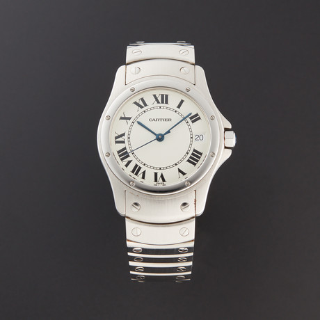 Cartier Round Santos Automatic // 1920 // Pre-Owned