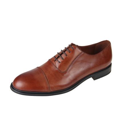 MT2178 // Oxford Shoe // Tan (Euro: 40)