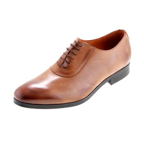 MT2207 // Oxford Shoe // Tan (Euro: 40)