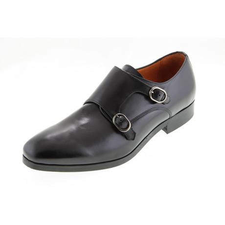 MT2212 // Monk Shoe // Black (Euro: 40)