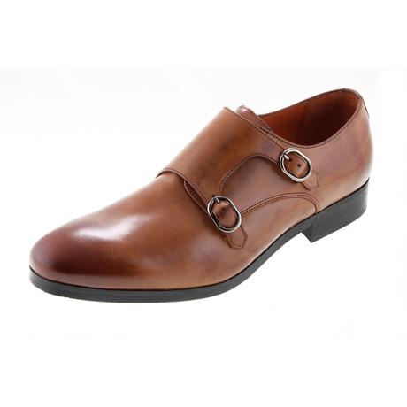 MT2214 // Monk Shoe // Tan (Euro: 40)
