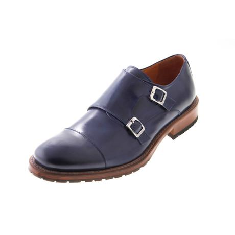 MT2229 // T. Monk Shoe // Navy (Euro: 40)