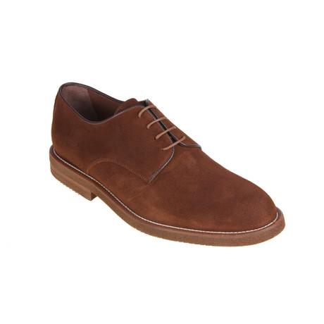 MT2353 // Derby Shoe // Tan (Euro: 40)