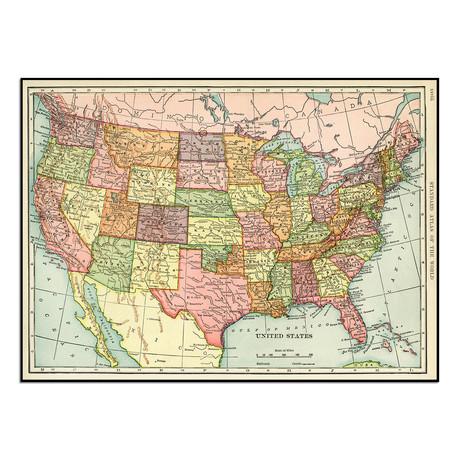 "USA Map (13.75""W x 10""H)"