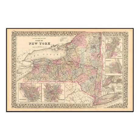 "New York 1879 (13.5""W x 9""H)"