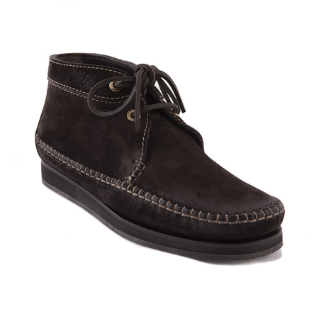 Men's Suede Lace Up Boots // Brown (US: 7)