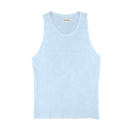 Slub Tank // Light Blue (S)