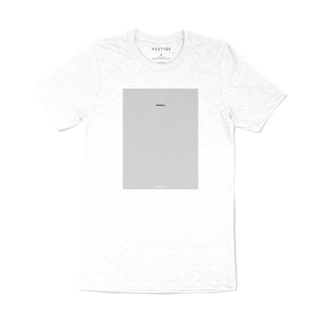 Minimal Type T-Shirt // White (S)