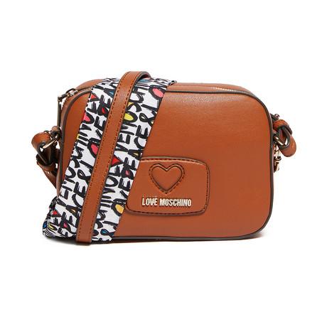Calf Shoulder Bag // Brown