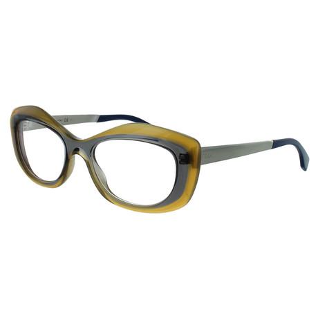 Women's Butterfly Glasses // Opal Honey + Gray