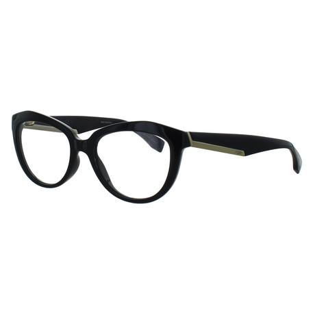 Women's Cat-Eye Glasses // Blue