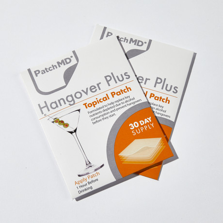 Hangover Plus Topical Patch // 2 Pack