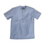 Monterosso // Indigo Blue + White Stripes (Small (Skinny))