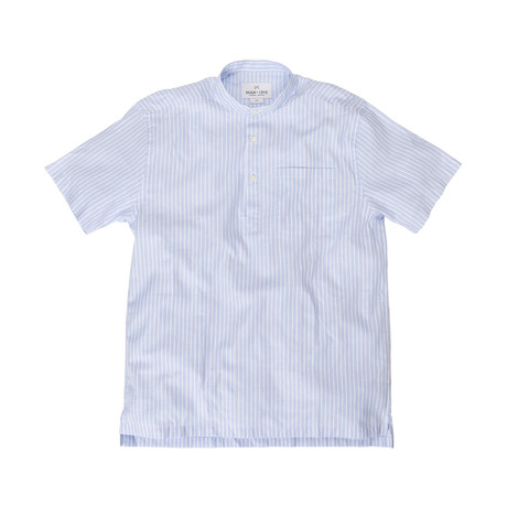 Emilio // Light Blue + White Oxford (Large (Athletic))