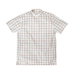 Stavro // Cream + Red + Blue Check (Large (Athletic))
