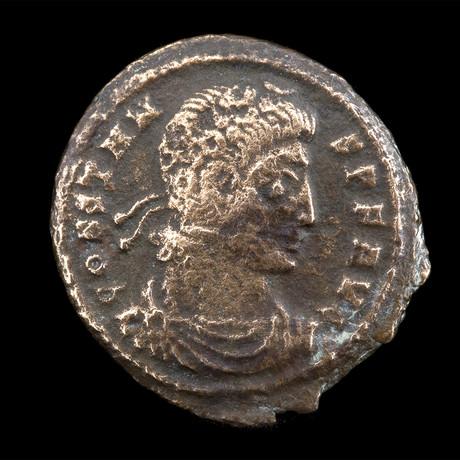 Authentic Roman Coin // Constans Ca. 337 - 350 CE // 1