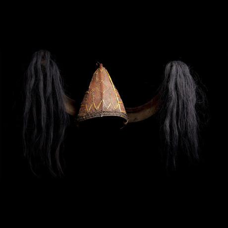 Naga Headhunter Headdress // India/Burma Ca. 20th Century CE // Ex Allan Stone Collection