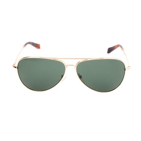 The Dakota // 3YG Sunglasses // Light Gold
