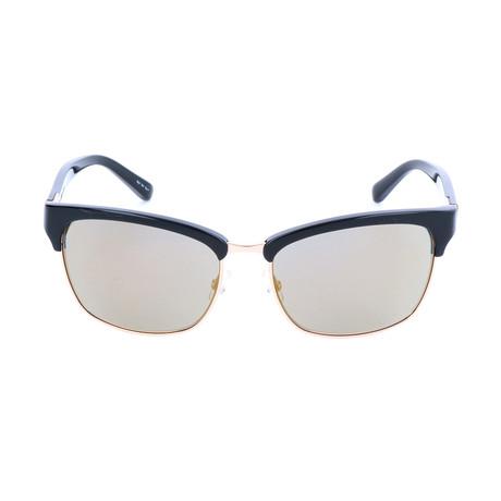 The Malcom // 9W4 Sunglasses // Black + Light Gold