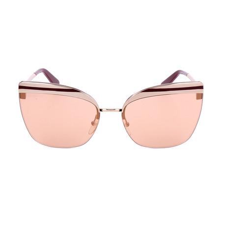 Women's SF166S Sunglasses // Shiny Rose Gold
