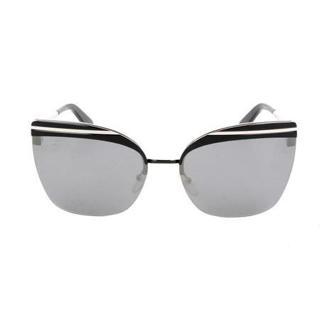 Women's SF166S Sunglasses // Shiny Black