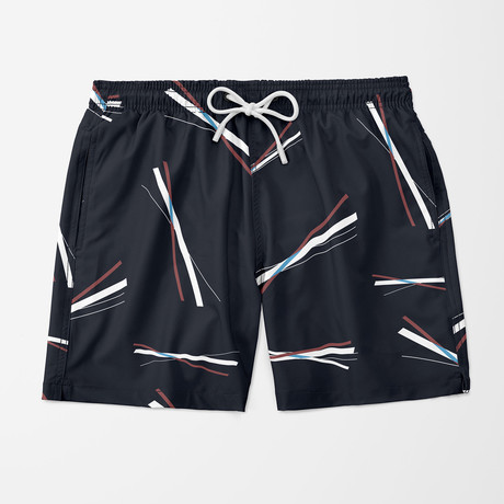 Intersect Swim Trunk // Navy (S)