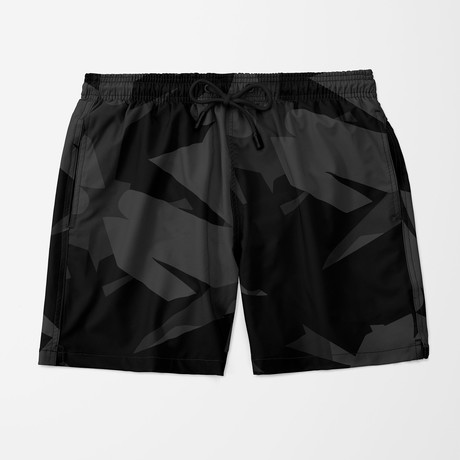 Visual Art Swim Trunk // Black (S)