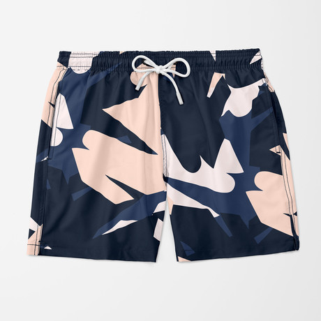 Visual Art Swim Trunk // Navy (S)