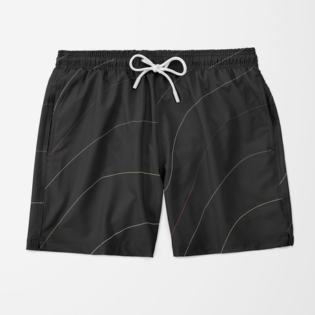 Contour Swim Trunk // Black (S)