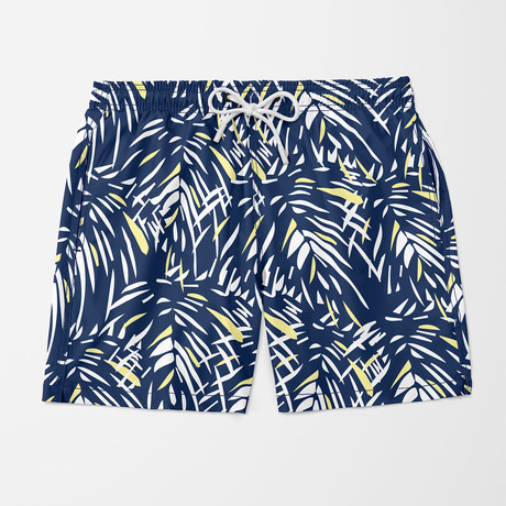 Jungle Swim Trunk // Blue (S)