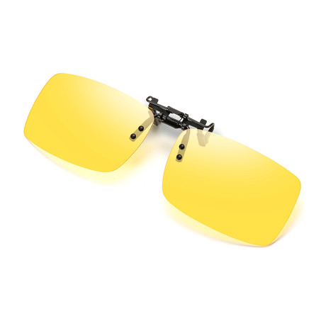 Clip on Sunglasses // HUANGSEJ3039 // Yellow