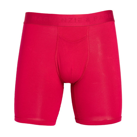 48H-Go Horizontal Fly Boxer Briefs // Persian Red (S)
