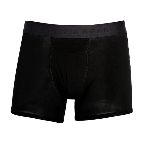 48H-Go Horizontal Fly Trunks // Jet Black (S)