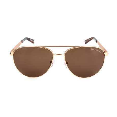 TL801 S02 Sunglasses // Gold