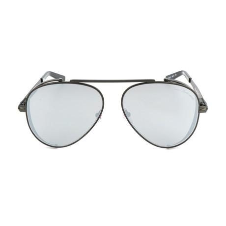 TL802 S01 Sunglasses // Silver