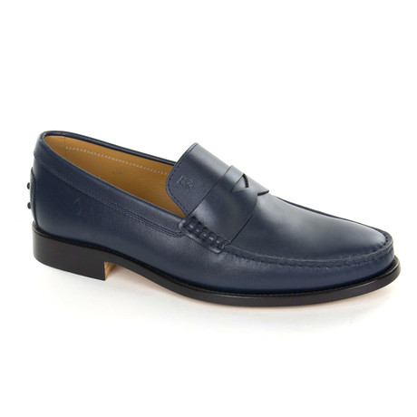 Leather Classic Loafer // Navy (UK: 6)