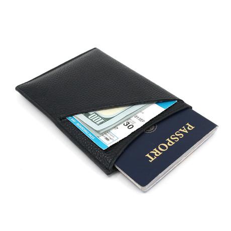 DashPassport TravelWallet// Pebble Leather