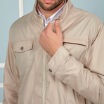 Todd Light Jacket // Beige (Small)