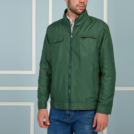 Dean Coat // Green (Small)