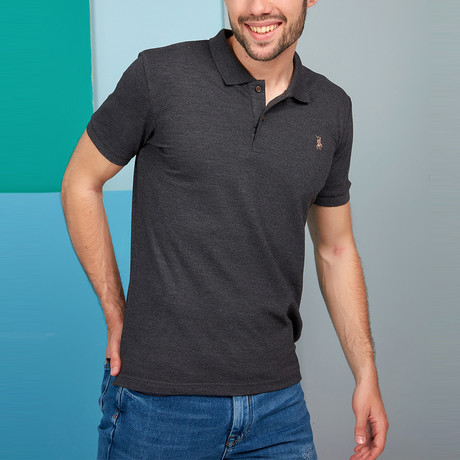 T8561 Polo // Anthracite (L)