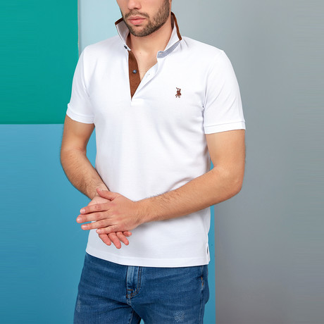 Gino Polo // White (2X-Large)