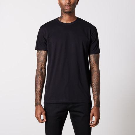 The Better Basic Crew // Black (XS)