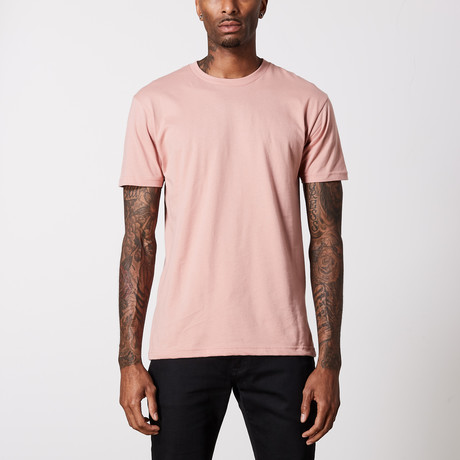 The Better Basic Crew // Desert Pink (XS)