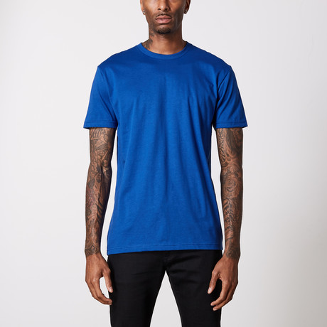 The Better Basic Crew // Royal Blue (XS)