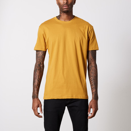 The Better Basic Crew // Antique Gold (XS)