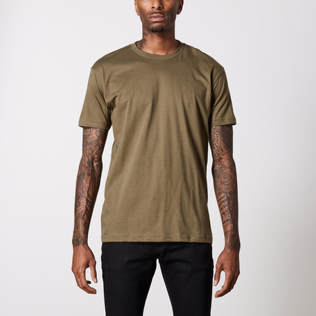 The Better Basic Crew // Military Green (XS)