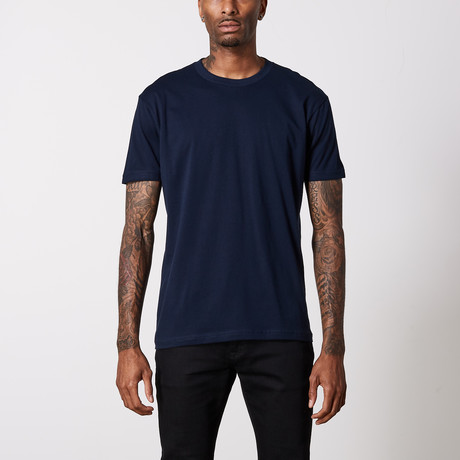 The Better Basic Crew // Midnight Navy (XS)