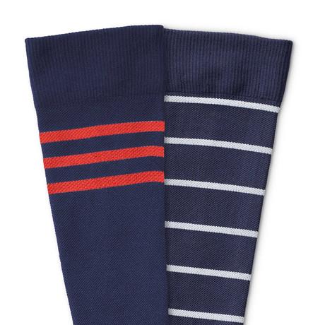 Compression Socks // Royalty // 2-Pack // Medium